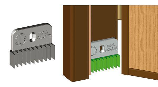 Terminale paraspifferi mod no air cce acnoa - Insonorizzare porta ...